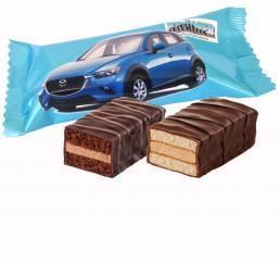 Werbe-Kuchenriegel, individuell bedruckt mit Logo