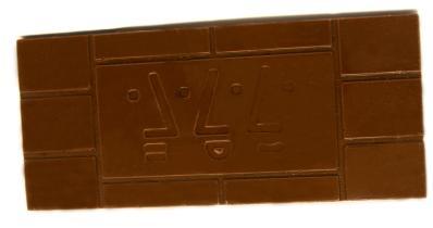 Schokolade mit Logo 100g