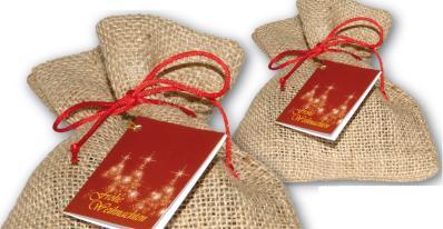 Weihnachtssäckchen für individuelle Füllung mit Logo