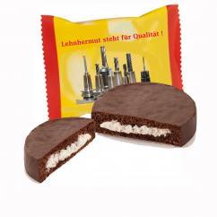 Werbe-Schokoladenkuchen individuell bedruckt mit Logo